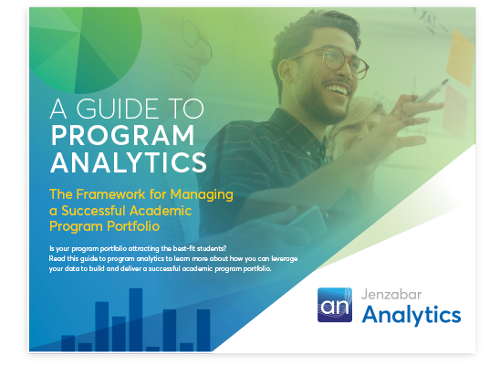 Jenzabar Ebook: A Guide to Program Analytics